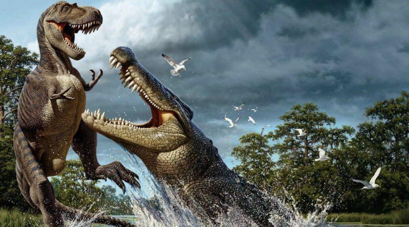 Дейнозух: Американский Крокодил размером с трёхэтажный дом