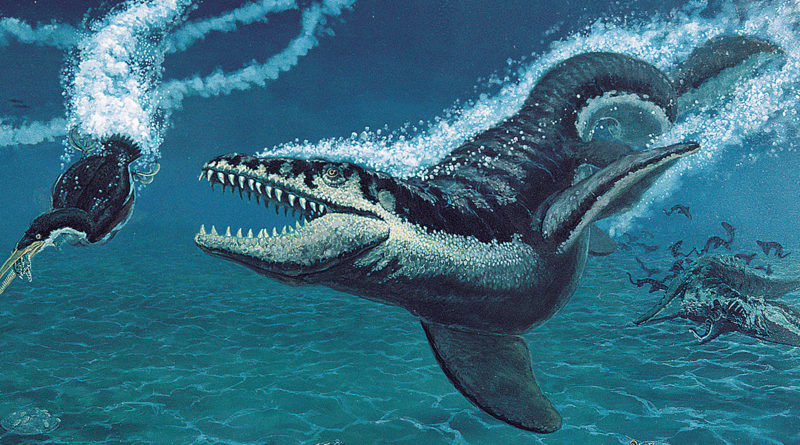 Мозазавр: Самый могущественный ящер моря