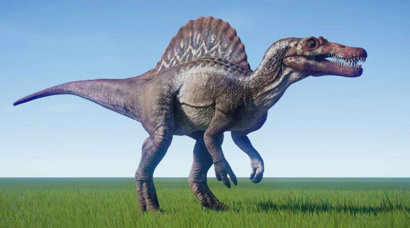 Спинозавр: Монстр, поедающий акул