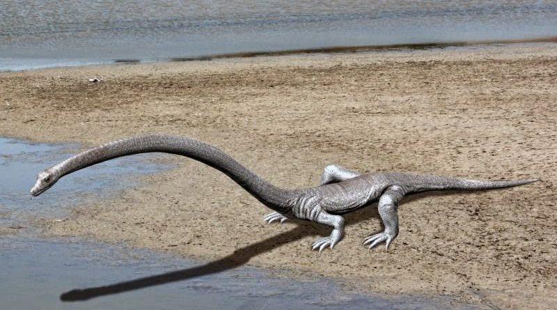 Танистрофей: Доисторическая рептилия с длинной шеей