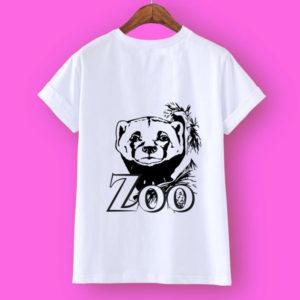 Дизайнерская футболка от Zoo (Росомаха)