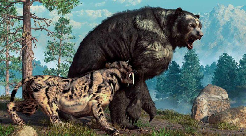 Гигантский короткомордый медведь: Титан, который мог убить мамонта