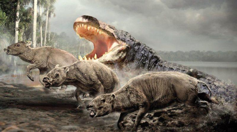 Пурусзавр: Доисторический крокодил весом в 12 тонн