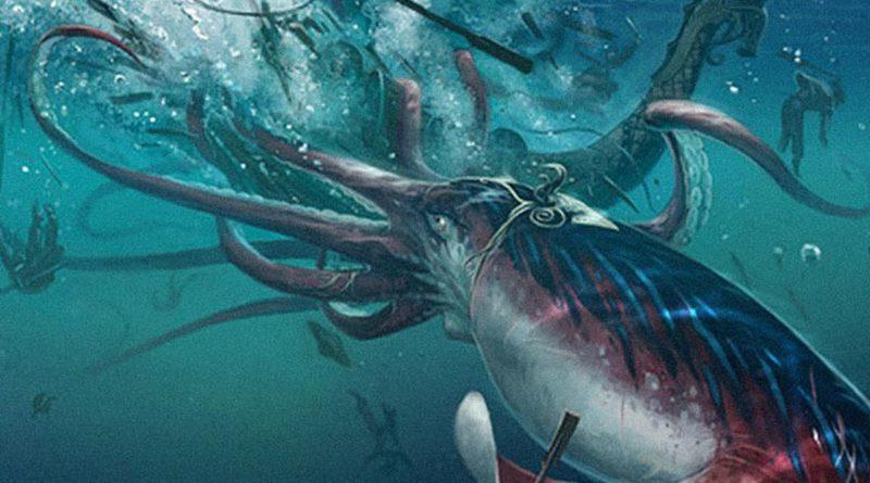 Гигантский кальмар: Вся правда о глубинных монстрах