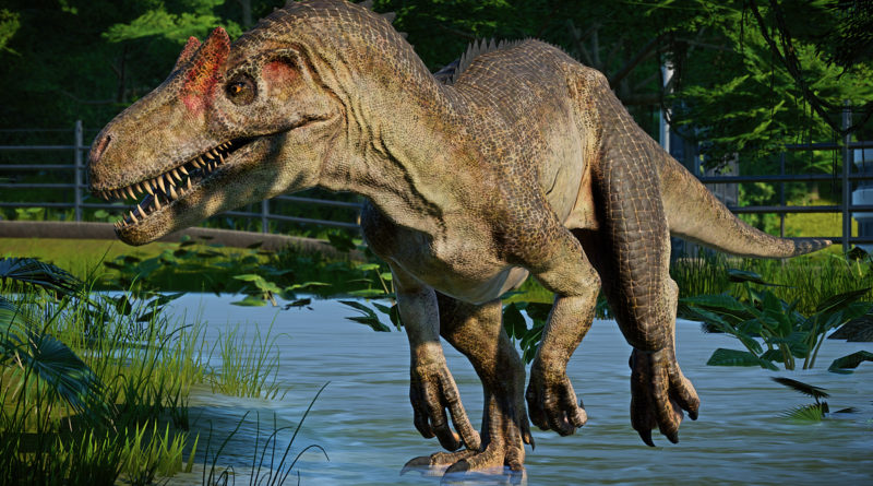 Аллозавр: Гепард Юрского периода