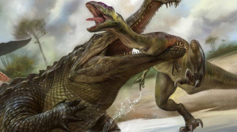 Саркозух: Он питался динозаврами?