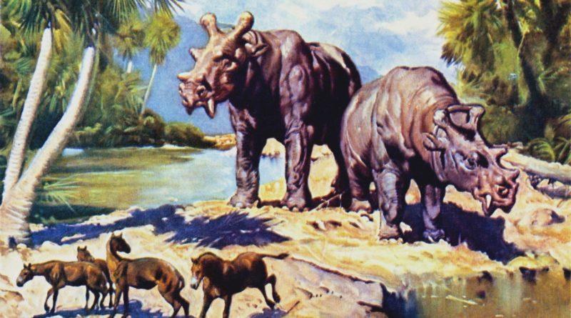 Эобазилевс: У этого динозавра шесть рогов и вампирские клыки